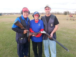 Neal with Gil and Vicki Ash - OSP Shooting School