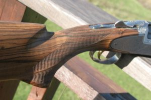 Blaser Shotgun with Side Plates
